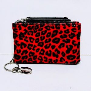 💋Lipstick Red Wild Fable Keychain card case
